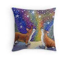 Starry, starry night (version 2) Throw Pillow