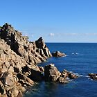 Porthgwarra, Cornwall by Will Priestley