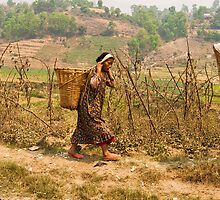 Nepalese Women by Chris West