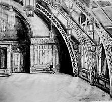 Top Floor, Old Co-Op building(Pencil) by Woodie