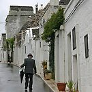 Home from the Market, Alberobello Italy by Debbie Pinard
