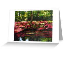 The Spring In Washington Greeting Card