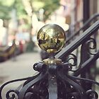 Vintage Brass Knob 2 by Wendy Ramos