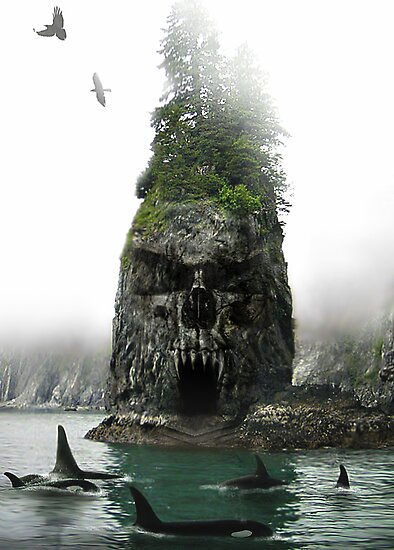Skull Rock by Cliff Vestergaard