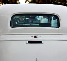 White 1933 Ford Hot Rod by AuntDot
