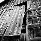 The Old Ways - An Old Barn In Farm Country 2 by Reuben Baker