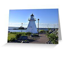 Port Medway Lighthouse Greeting Card