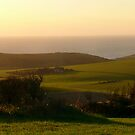 South Downs Coastal Panorama by mikebov