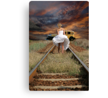 JUST ELOPED 2 Canvas Print