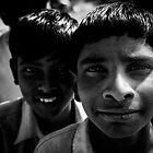 Children in Hampi 1 by Bruno Amaral Pereira