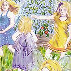 Fairies in the Garden by Wendy Crouch