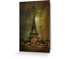 City of Paris from 1900 Greeting Card