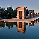 Templo de Debod by Antonio Zarli