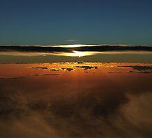 Sunset Over The Great Australian Bight  by Tizimagen