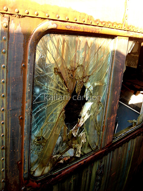 Your Getting Out Thru The Window by MJD Photography  Portraits and Abandoned Ruins