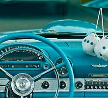 1960 Ford Thunderbird Dashboard by Jill Reger