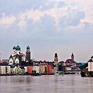 looking to Passau by doug hunwick