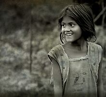 The Innocent Tribal Girl by Mukesh Srivastava