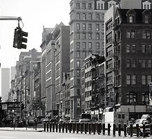Fifth Avenue and Broadway by Vesa Loikas