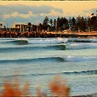 North Wollongong Beach by 16images