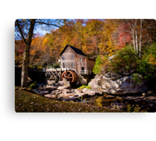 Autumn Morning in West Virginia Canvas Print