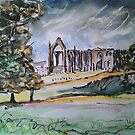 'Bolton Abbey, Wharfedale' by Martin Williamson (©cobbybrook)