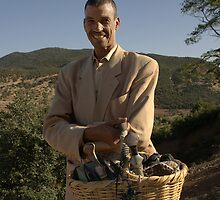 Atlas mountains business man. by fotopro
