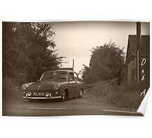 VW Type 3 Poster