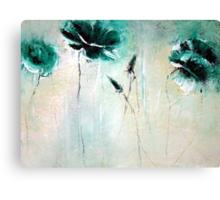 Rich greens Canvas Print