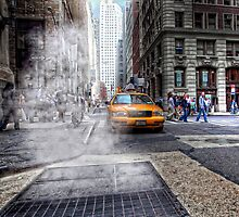 New York City by DamianBrandon