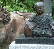 Sitting Little Buddha by Shanna Underwood