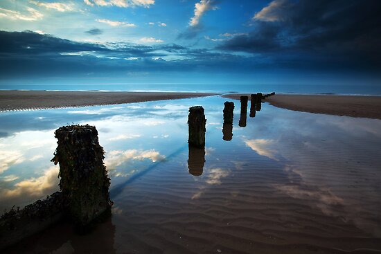 Reflections in Blue by Andy F