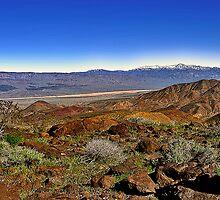 Telescope Peak Panamint Valley, CA Eastern SIerras by Larry Darnell