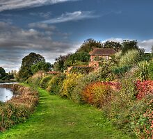 Culpeper Gardens at Leeds Castle by Chris Thaxter