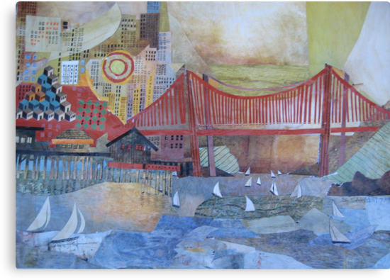 Enter that Golden Gate by Sally Sargent