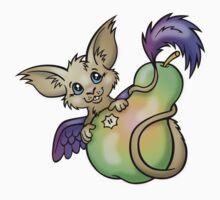 Yummy! - Fantasy Critter with Pear by CGafford