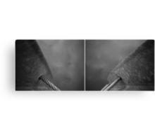 Floating Bridge (diptych 7/8) Canvas Print