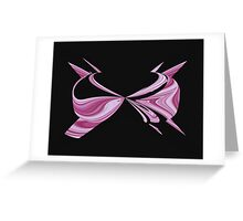 Pink Bra Greeting Card