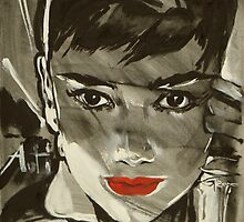 Audrey Hepburn by Nady Gepp