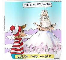 Waldo Finds Himself by Londons Times Cartoons Poster