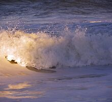 Sunsetting on the Waves by quiltmaker