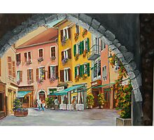 Archway to Annecy's Side Streets Photographic Print