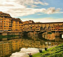 Ponte Vecchio by Barbara  Brown