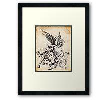 Fury & Elegance - Forged As One Framed Print