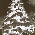 Glowing Tree by Darlene Virgin
