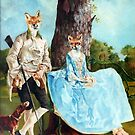 Mr and Mrs Reynard. by David McEwen