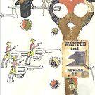 Bounty Hunter -Sketchbook page 16 by scallyart