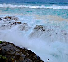 Wet Rock Shelf by bazcelt