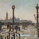 Towards the light, Venise. by David McEwen