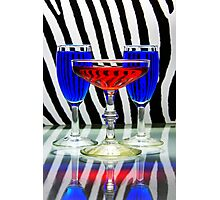 Electric Cocktails Photographic Print